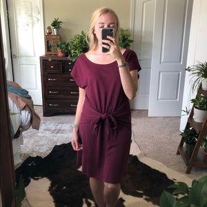 Prairie Underground Lyre Short Sleeve Tie Dress XS